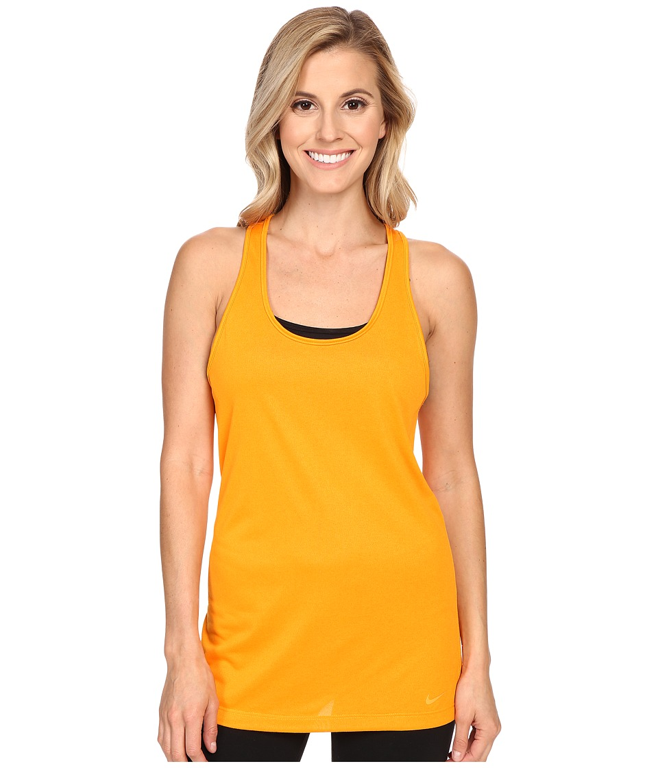 Nike - Balance Tank Top (Vivid Orange/Vivid Orange) Women's Workout