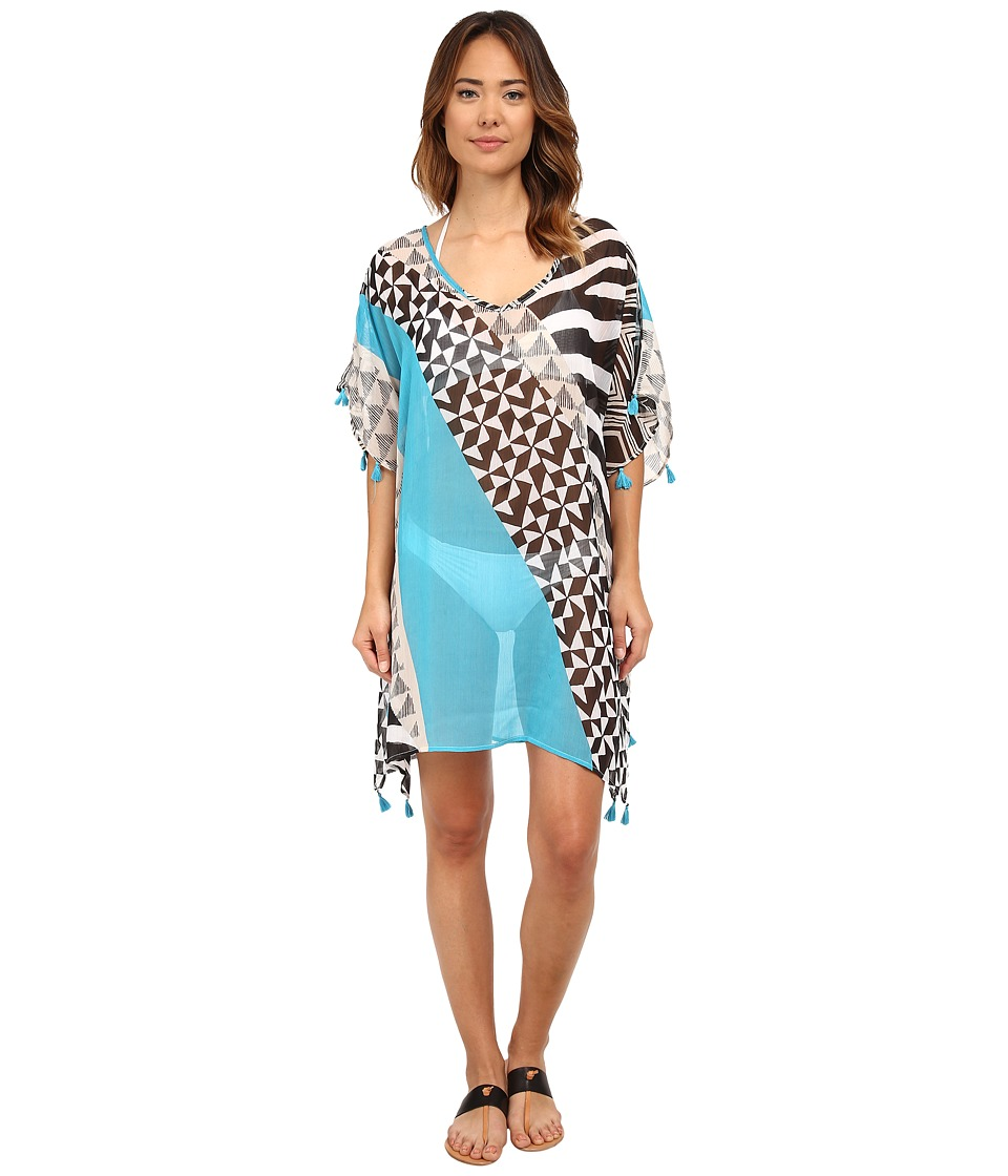 Bleu Rod Beattie - Skin Deep Tunic Cover-Up (Bleu Crush) Women's Swimwear