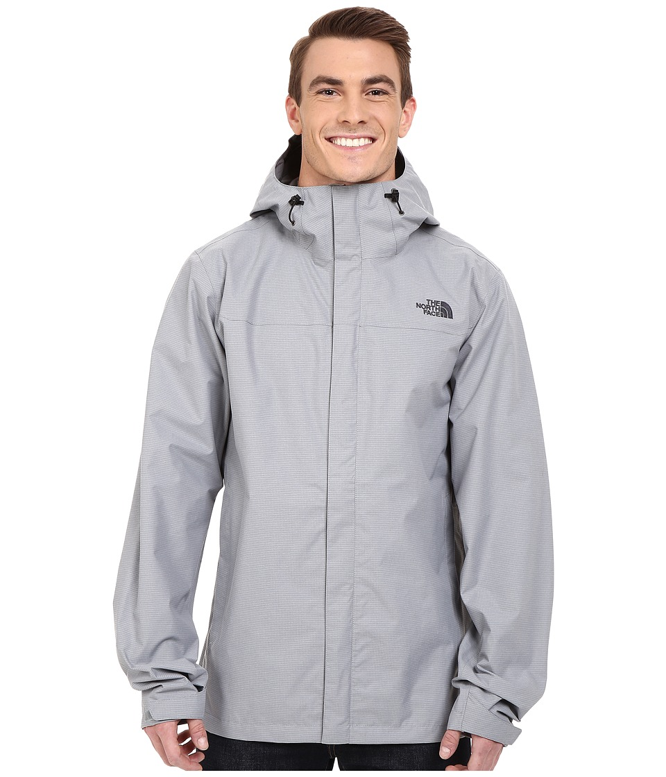 The North Face - Venture Jacket Tall (Mid Grey Heather) Men's Coat