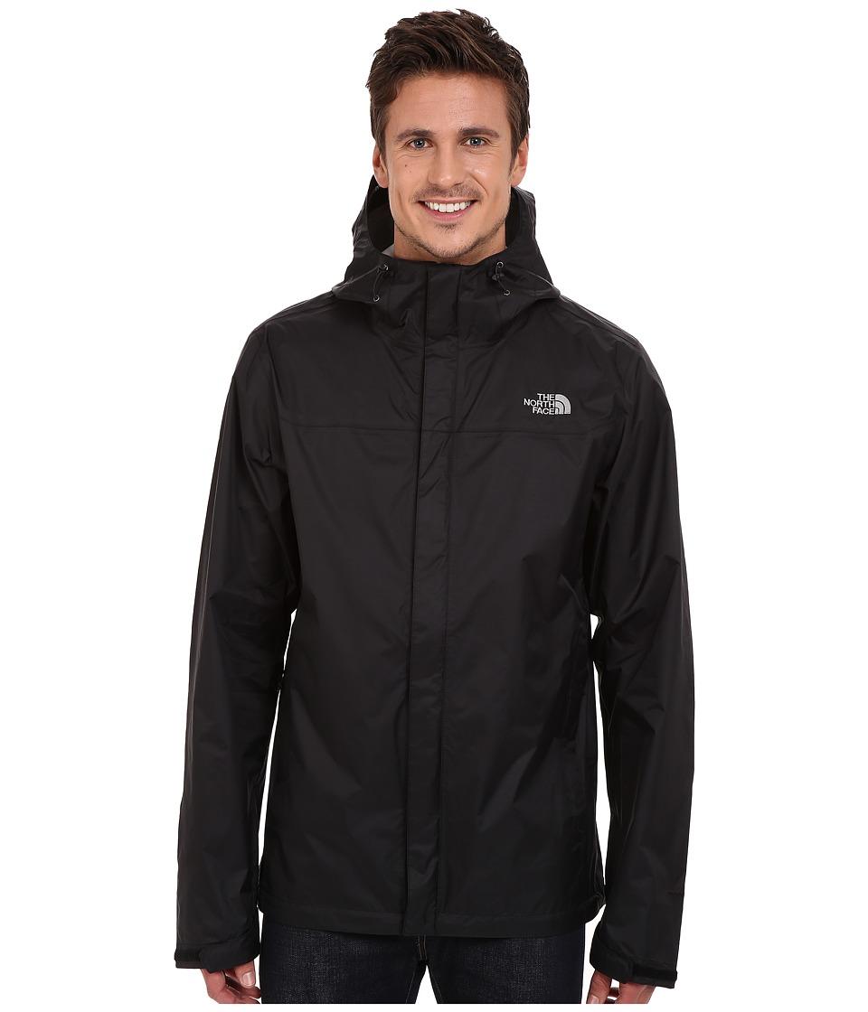 The North Face - Venture Jacket Tall (TNF Black/TNF Black) Men's Coat