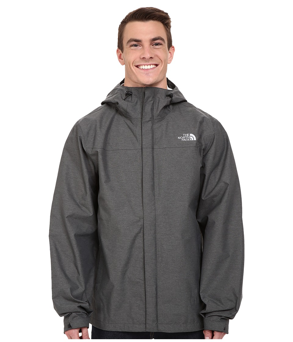 The North Face - Venture Jacket Tall (Asphalt Grey Heather) Men's Coat