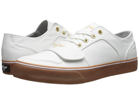 Creative Recreation - Cesario Lo XVI (White Gum) Men's Lace up casual Shoes