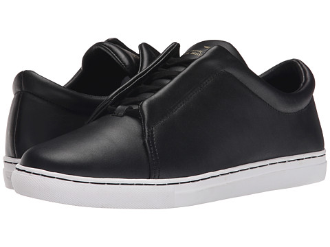 Creative Recreation - Turino (Black Full Grain) Men's Slip on Shoes