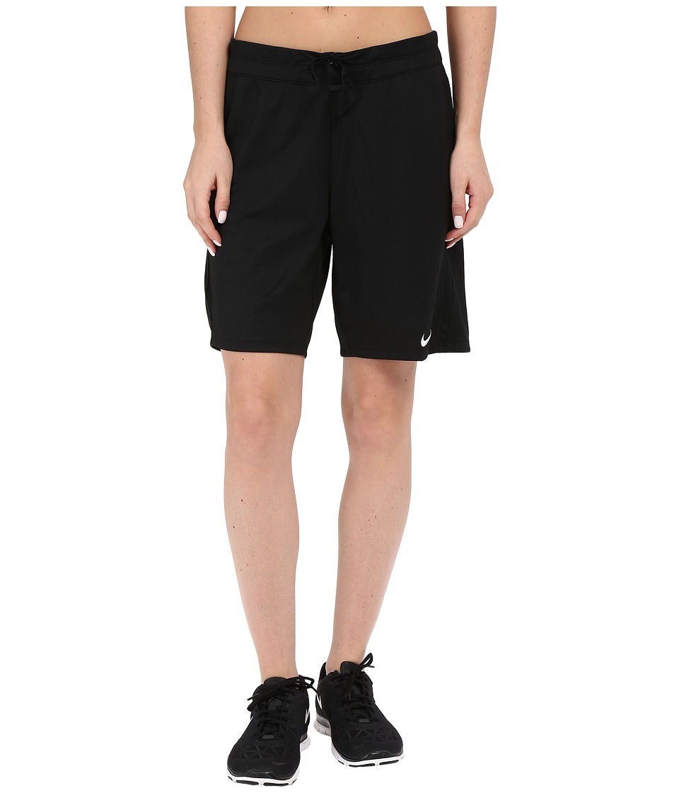 Nike - Infiknit Long Shorts (Black) Women's Shorts