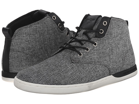 Creative Recreation - Vito (Black/Grey Chambray) Men's Lace up casual Shoes