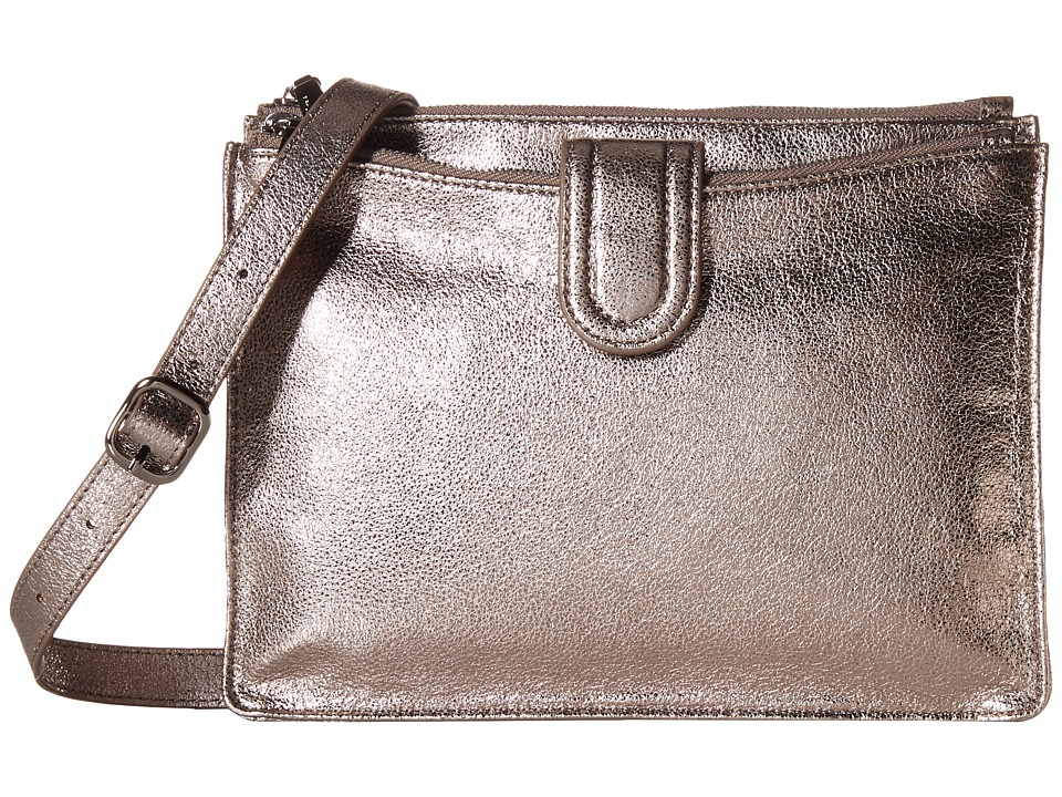 Hobo - Goldie (Hematite) Cross Body Handbags