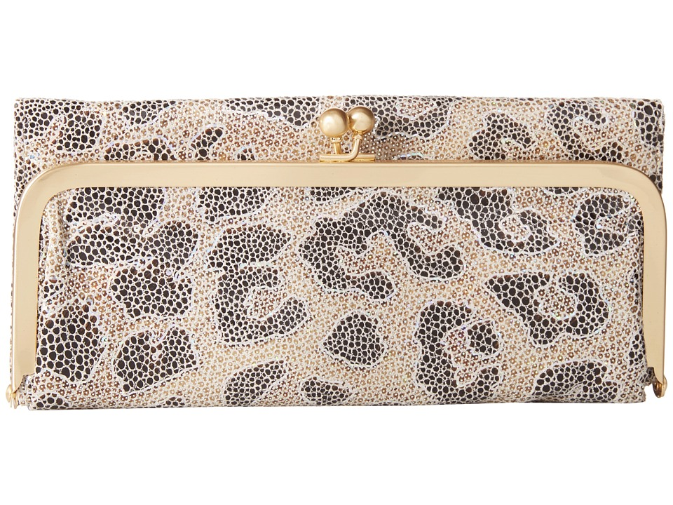 Hobo - Rachel (Cheetah Shimmer) Clutch Handbags
