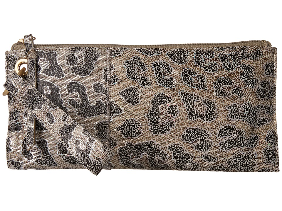 Hobo - Vida (Cheetah Shimmer) Clutch Handbags