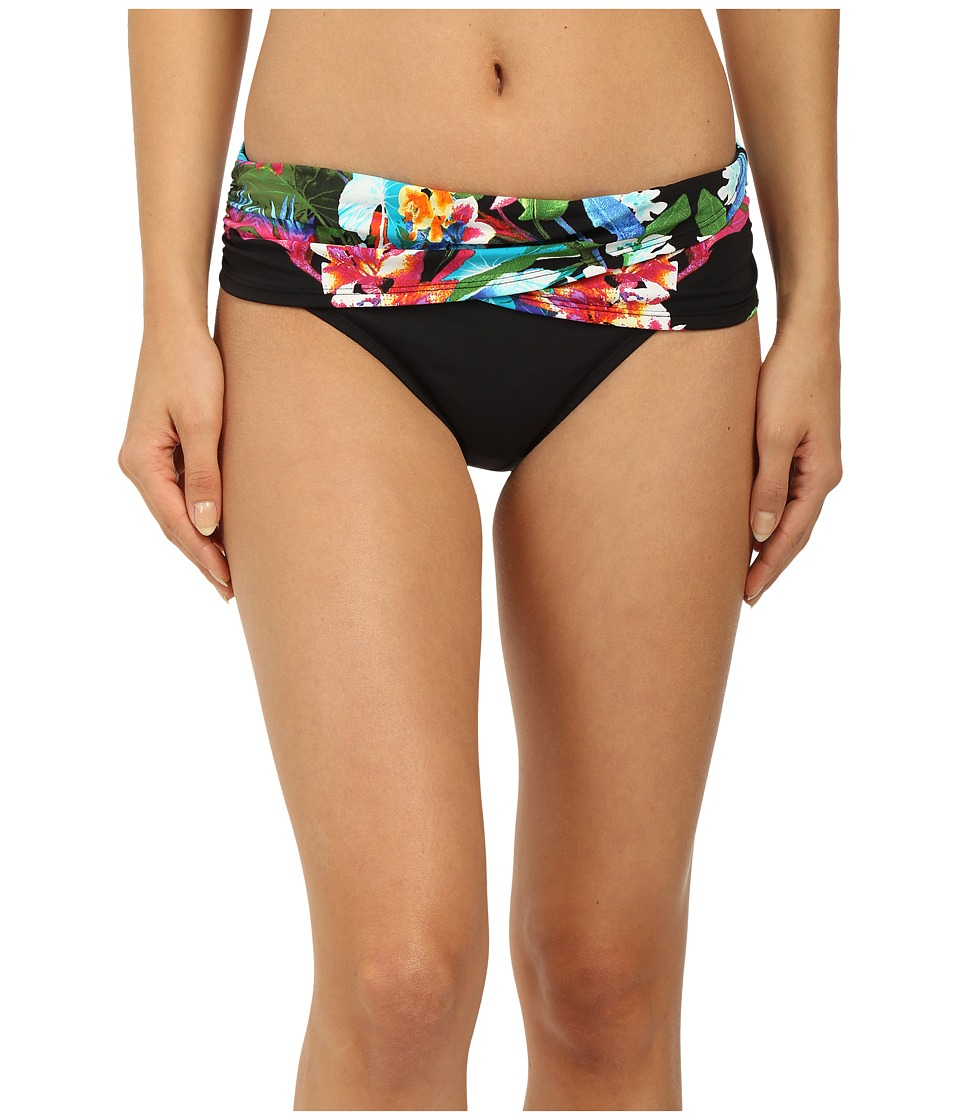 Bleu Rod Beattie - Lush Life Sarong Hipster Bottom (Multi) Women's Swimwear