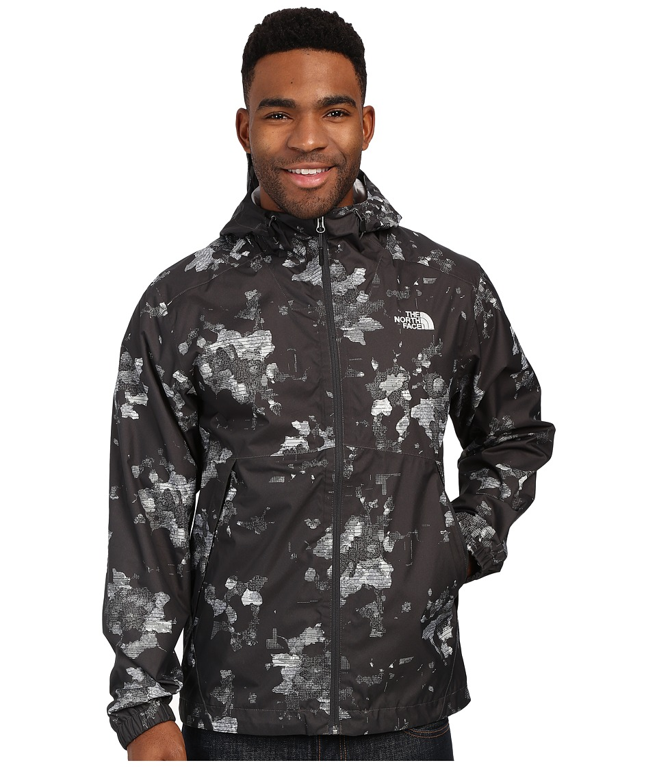 The North Face - Millerton Jacket (Asphalt Grey Floral Camo Print) Men's Coat