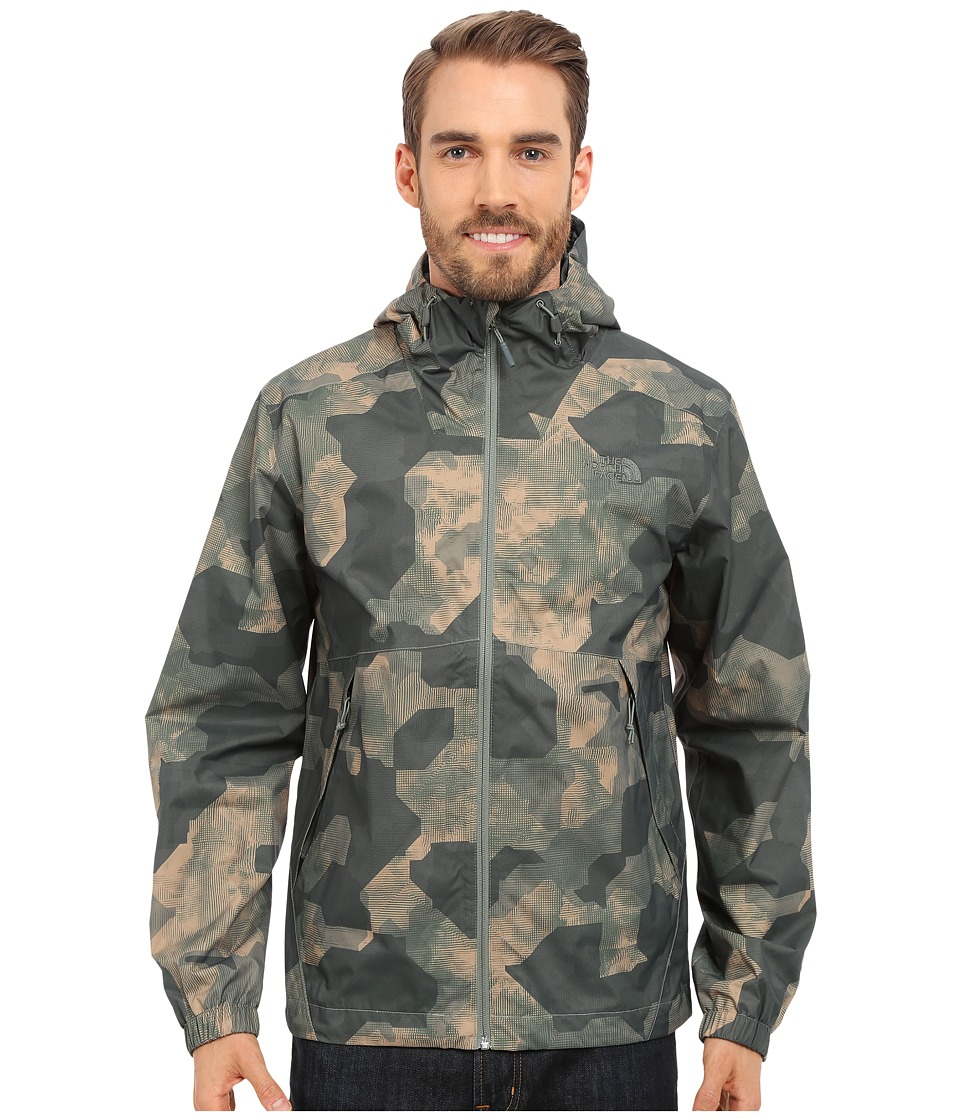 The North Face - Millerton Jacket (Laurel Wreath Green Depth Camo Print) Men's Coat