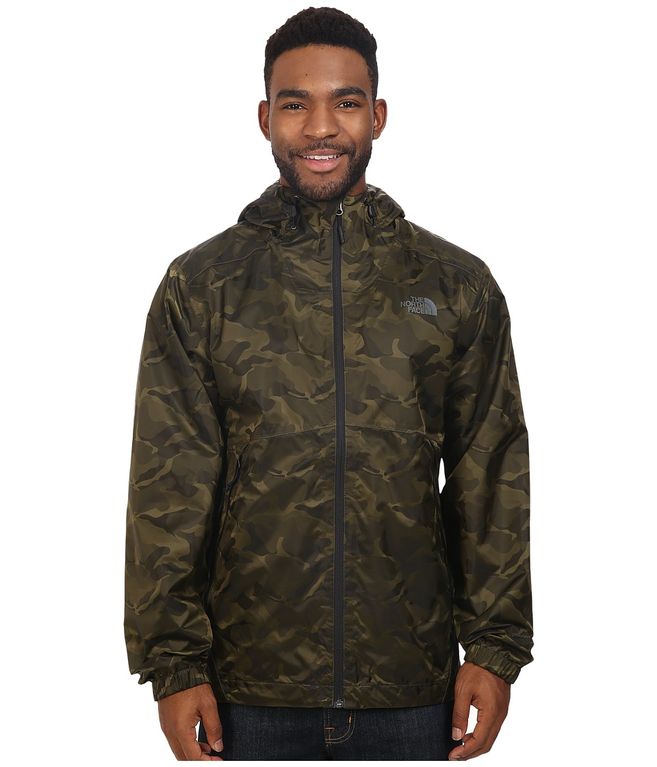 The North Face - Millerton Jacket (Black Ink Green Camo) Men's Coat