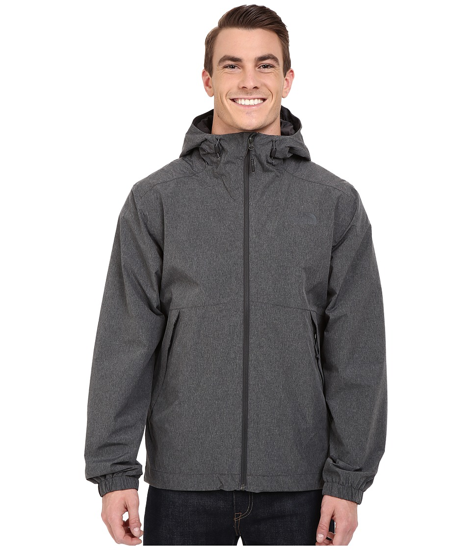 The North Face - Millerton Jacket (Asphalt Grey Tweed) Men's Coat
