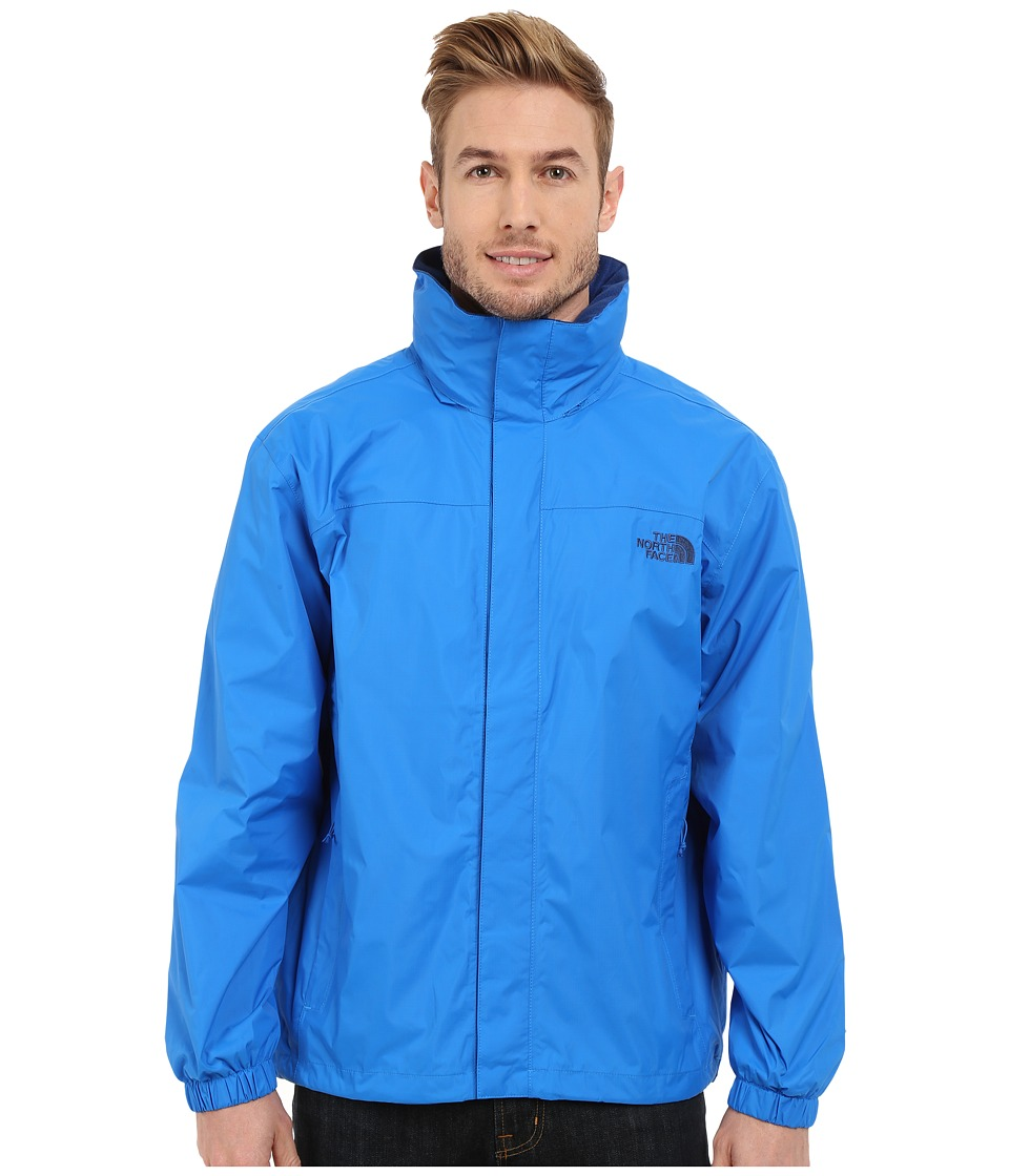 The North Face - Resolve Jacket (Bomber Blue/Limoges Blue) Men's Sweatshirt