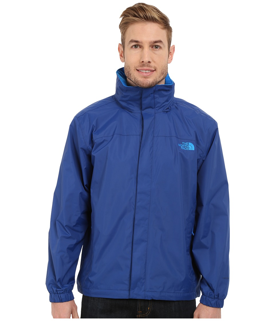 The North Face - Resolve Jacket (Limoges Blue/Bomber Blue) Men's Sweatshirt