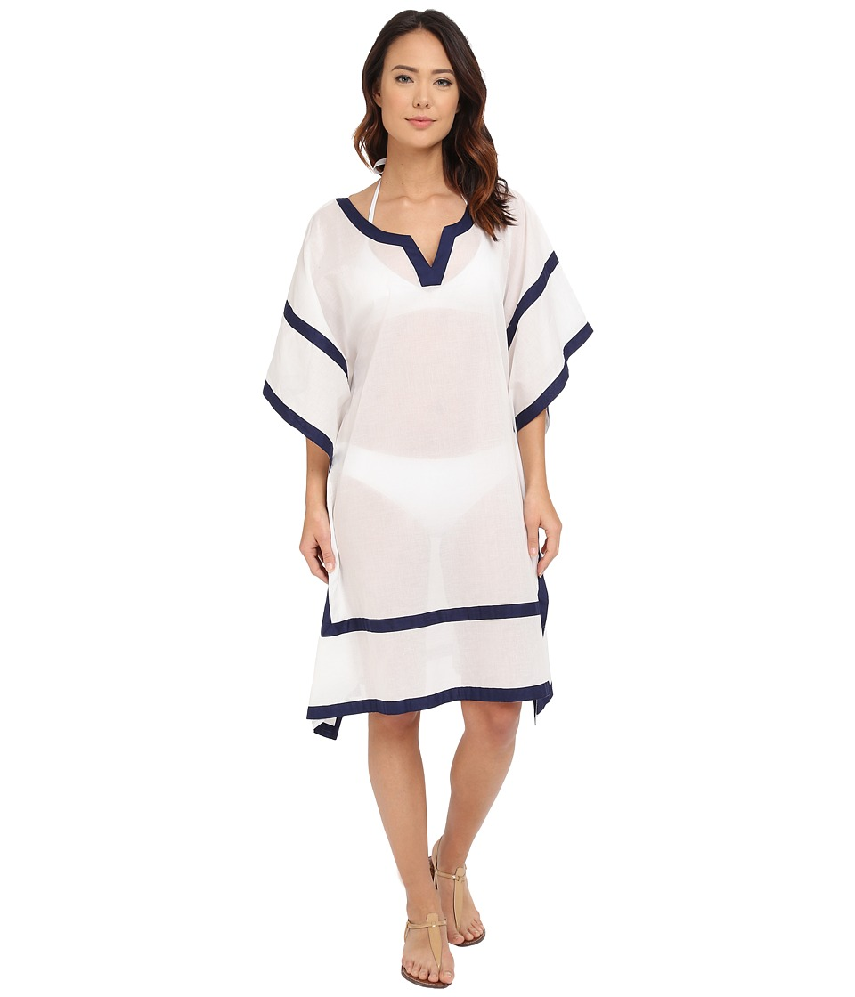 Vince Camuto - Shore Side Tunic Cover-Up (Navy) Women's Swimwear