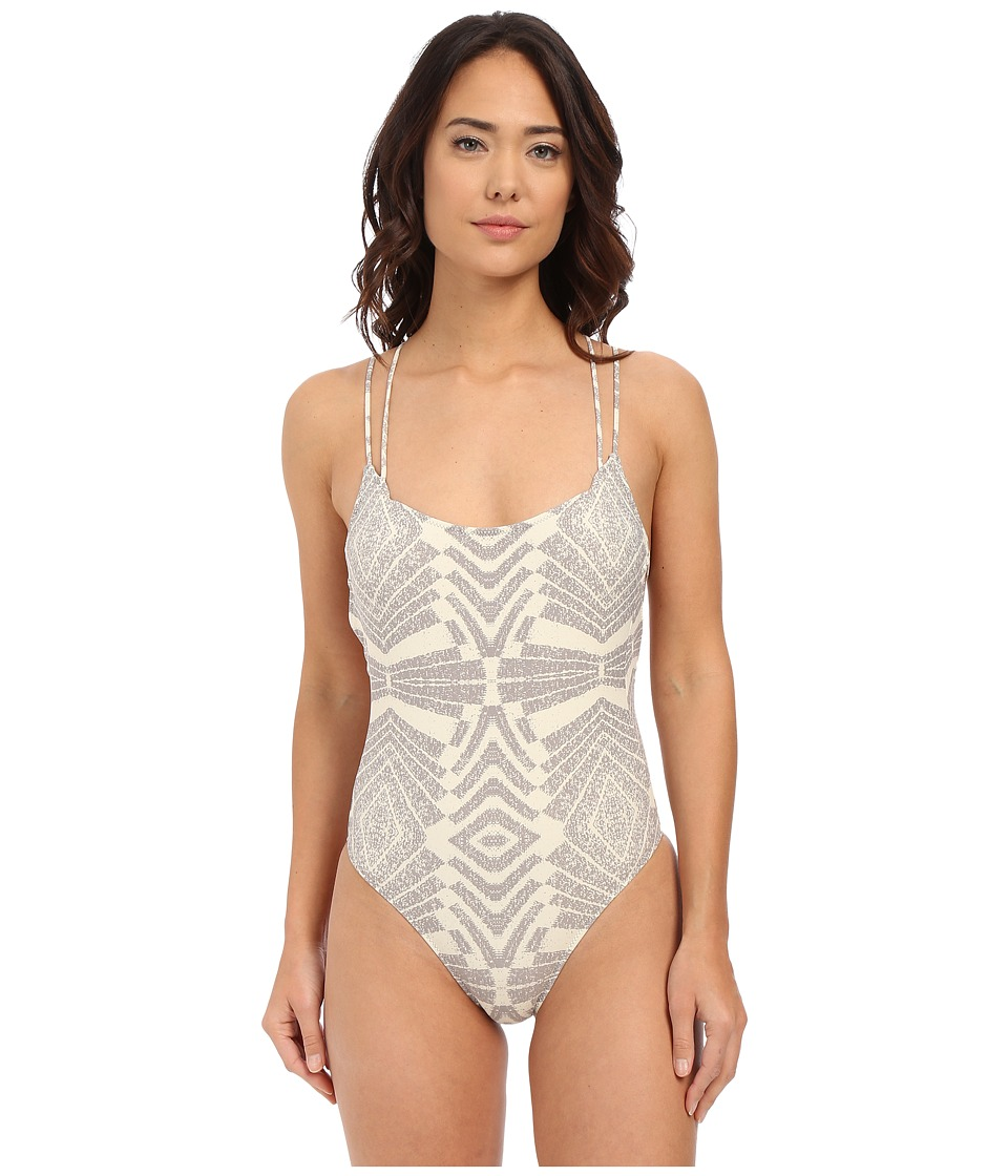 Rip Curl - Solstice One-Piece (Grey) Women's Swimsuits One Piece