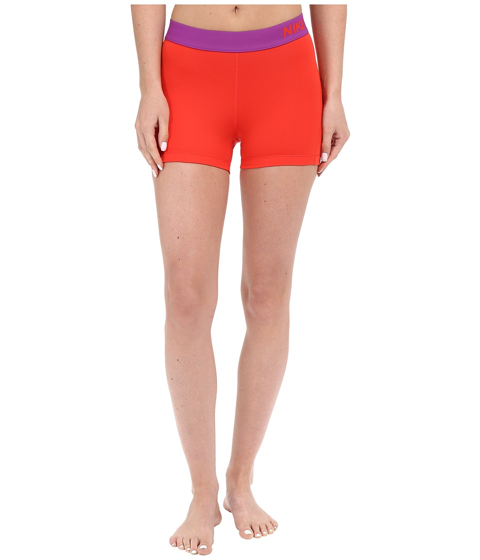 Nike Pro 3 Cool Compression Training Short (Light Crimson/Cosmic Purple/Cosmic Purple) Women