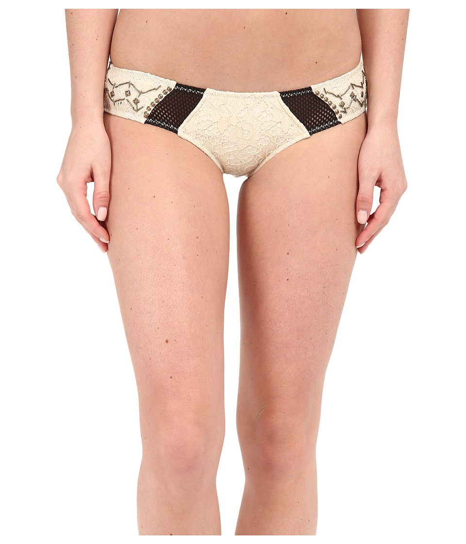 Rip Curl - Magical Ruins Hipster Bottoms (Vanilla) Women's Swimwear