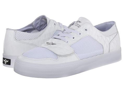 Creative Recreation - Cesario Lo XVI (White Mesh Diamonds1) Men's Lace up casual Shoes