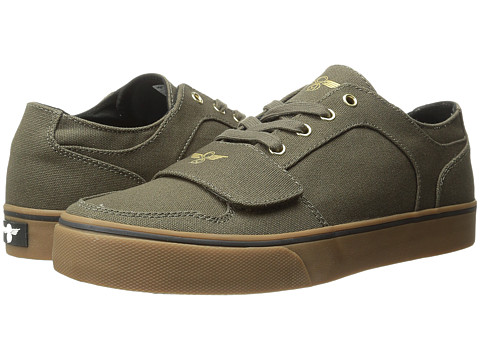Creative Recreation - Cesario Lo XVI (Military Gum1) Men's Lace up casual Shoes