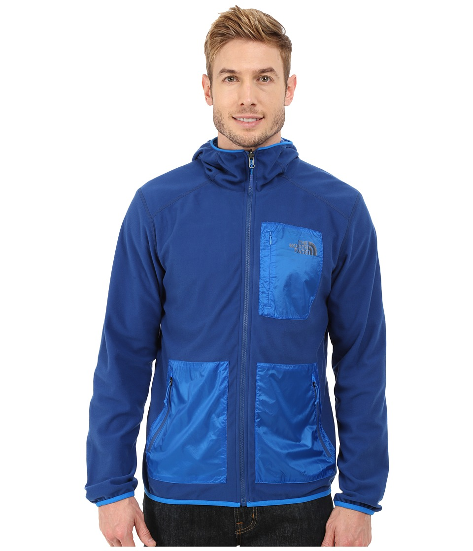 The North Face - Wilkens Reversible Wind Hoodie (Limoges Blue/Bomber Blue) Men's Sweatshirt