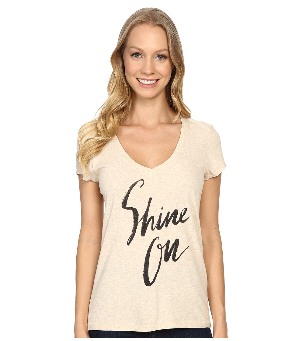 Life is good Shine On Newbury Vee (Heather Oatmeal) Women