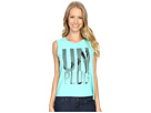Unplug Palm Trees Muscle Tee