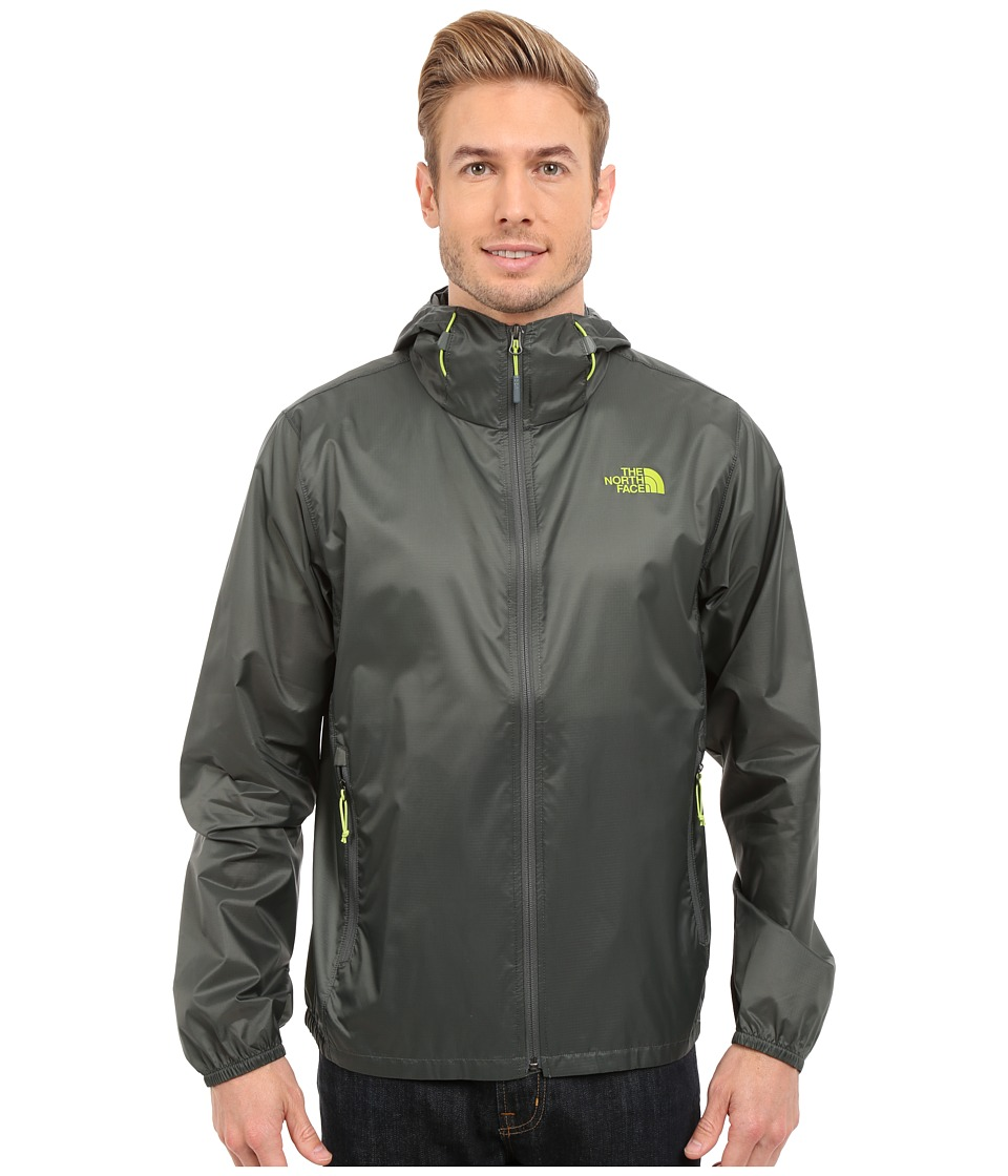 The North Face - Cyclone Hoodie (Spruce Green) Men's Coat