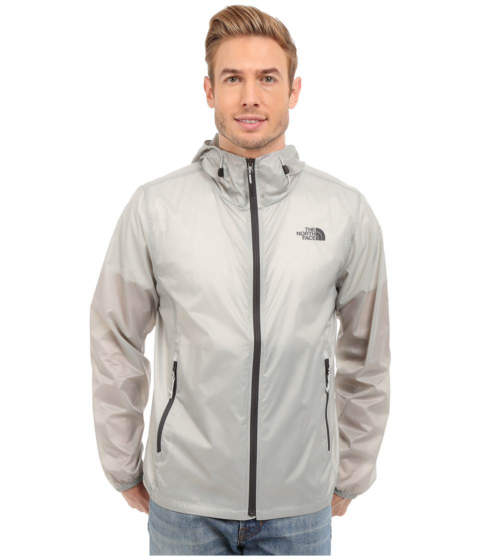 The North Face - Cyclone Hoodie (High Rise Grey) Men's Coat