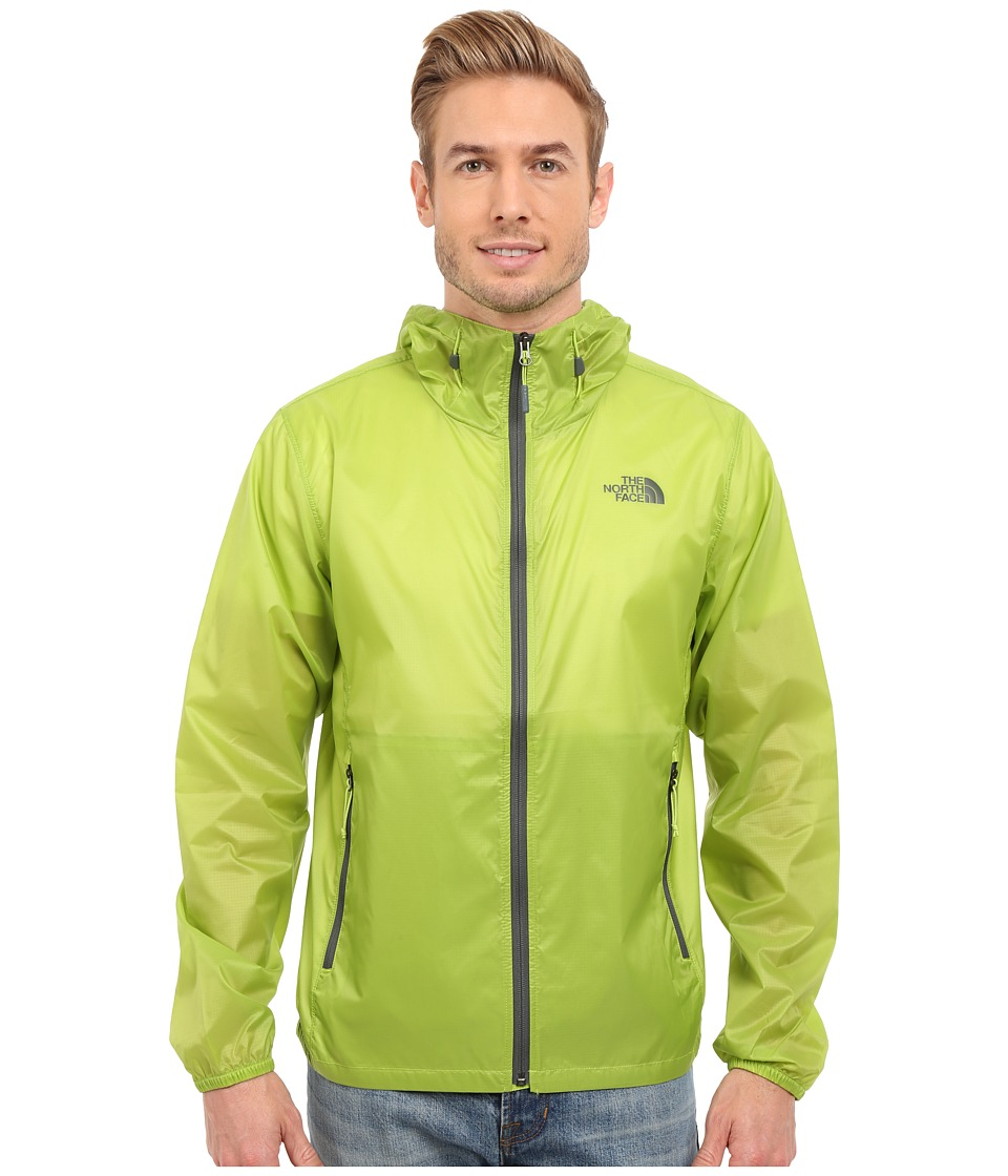The North Face - Cyclone Hoodie (Macaw Green) Men's Coat