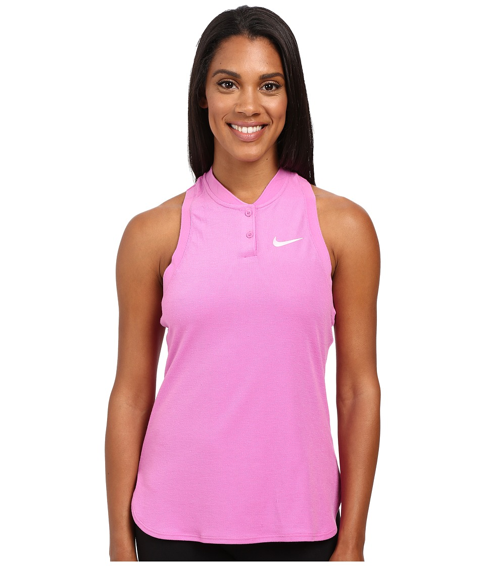 Nike - Court Premier Slam Tennis Tank Top (Viola/White) Women's Sleeveless