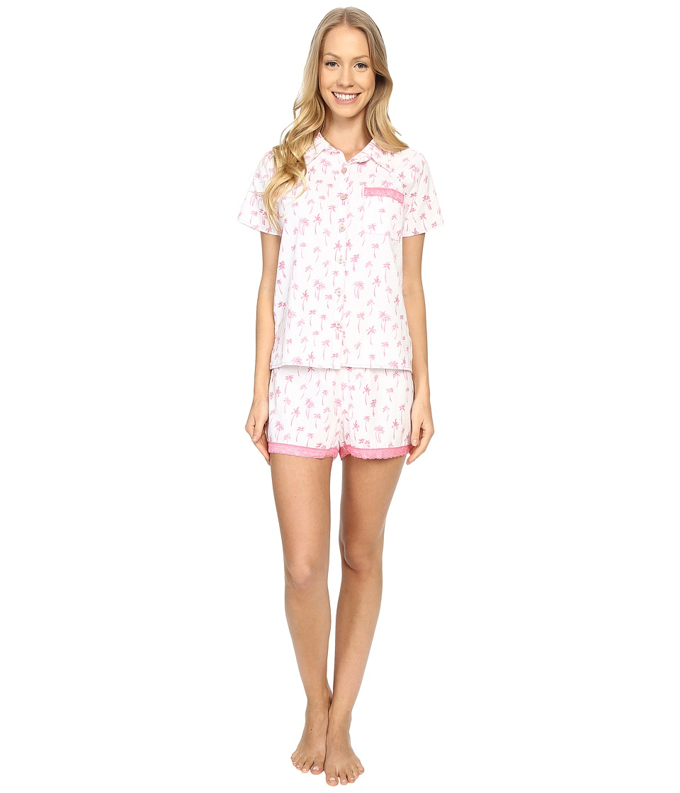 Life is good - Love Who You Are Vintage Sleep Set (Cloud White) Women's Pajama Sets