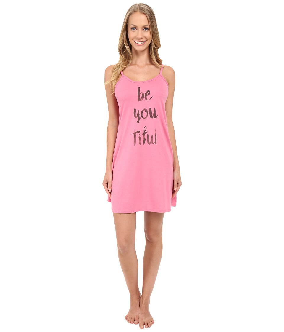 Life is good - Be You Cami Sleep Shirt (Rose Pink) Women's Pajama