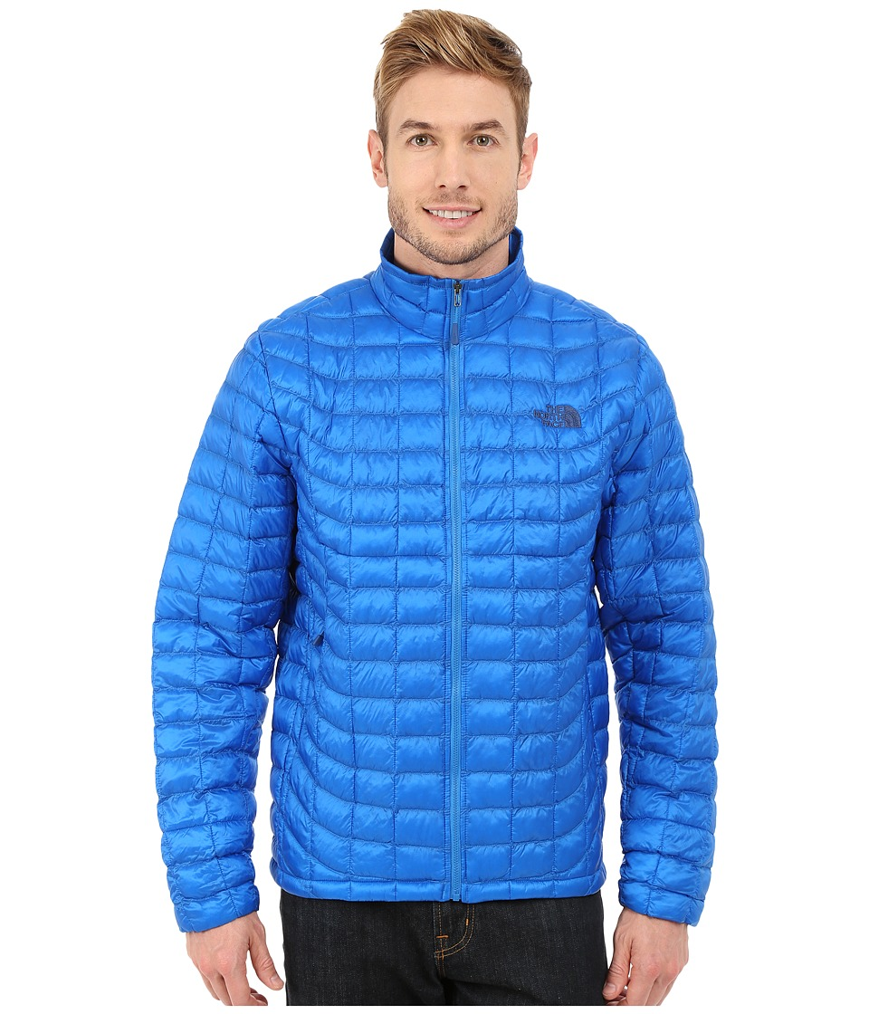 The North Face - ThermoBall Full Zip Jacket (Bomber Blue) Men's Coat