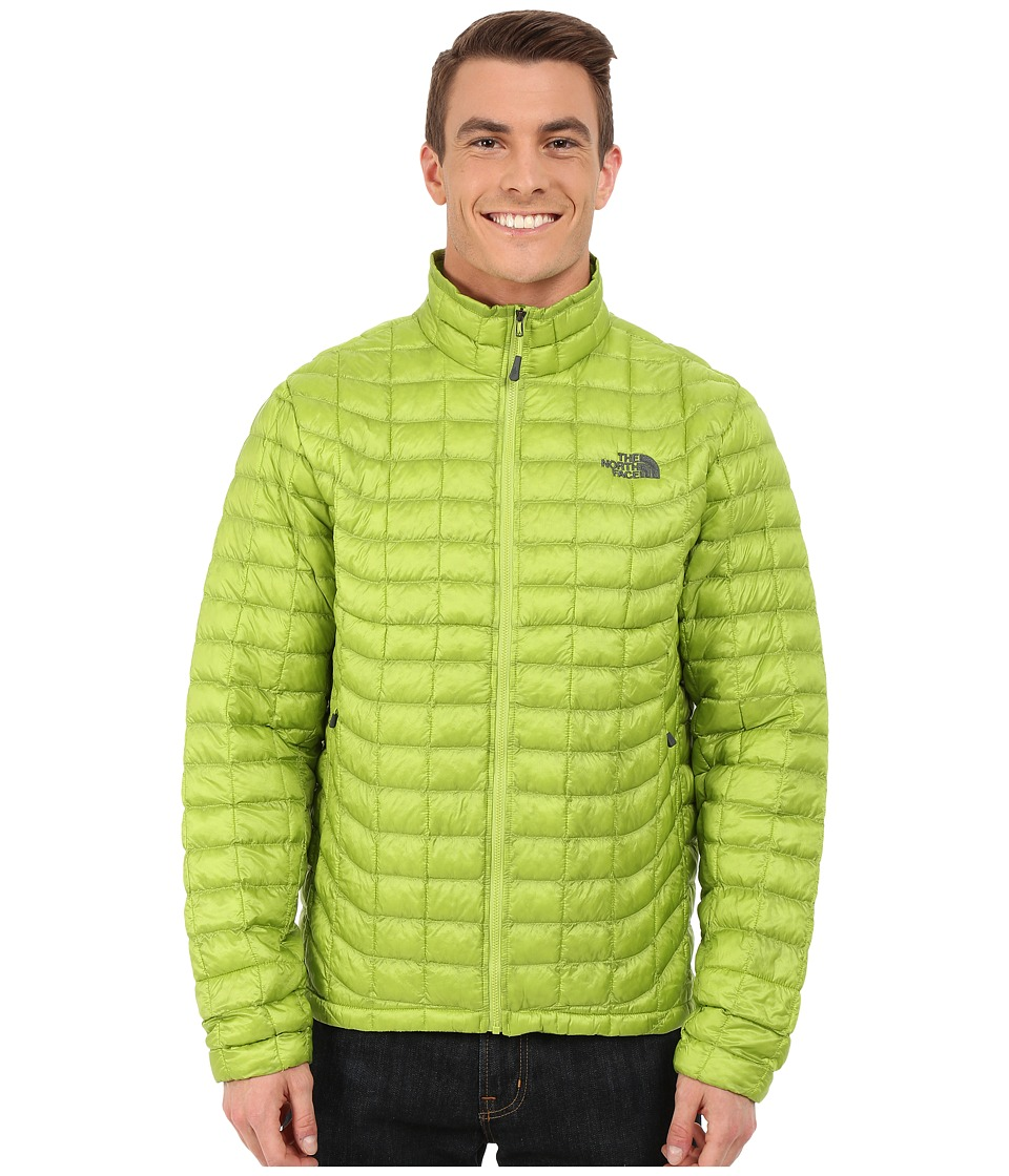 The North Face - ThermoBall Full Zip Jacket (Macaw Green) Men