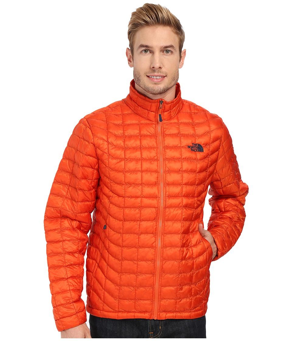 The North Face - ThermoBall Full Zip Jacket (Papaya Orange) Men