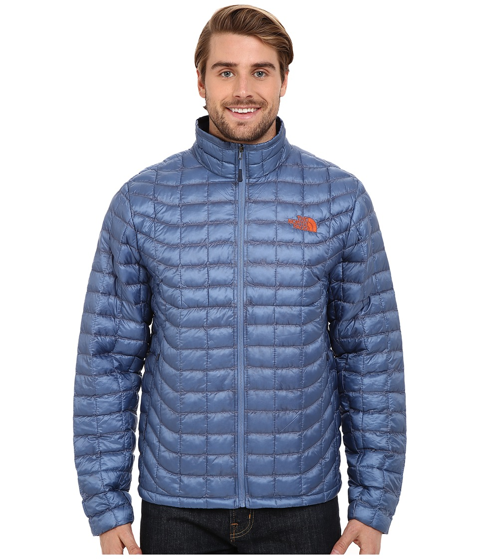 The North Face - ThermoBall Full Zip Jacket (Moonlight Blue) Men's Coat