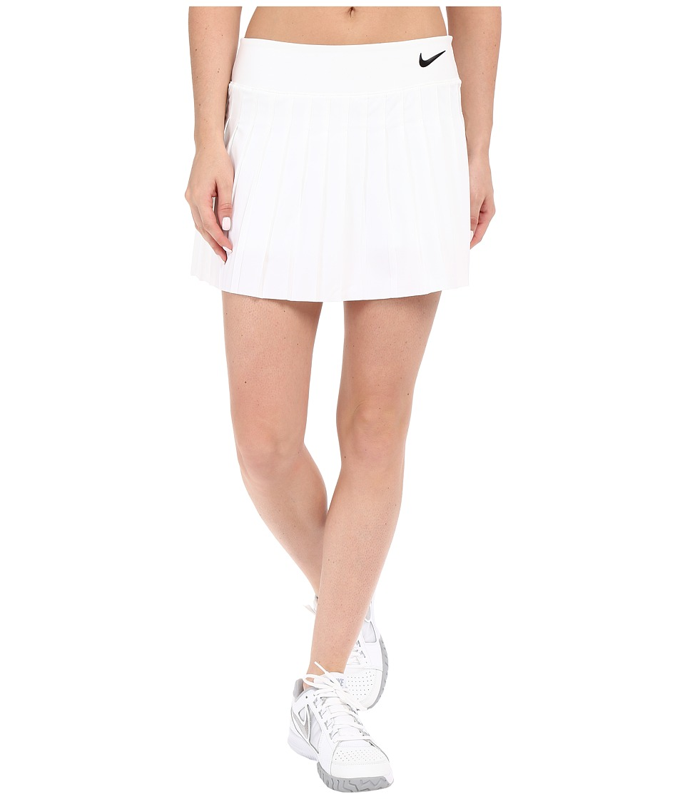 Nike Victory Skirt (White/White/Black) Women