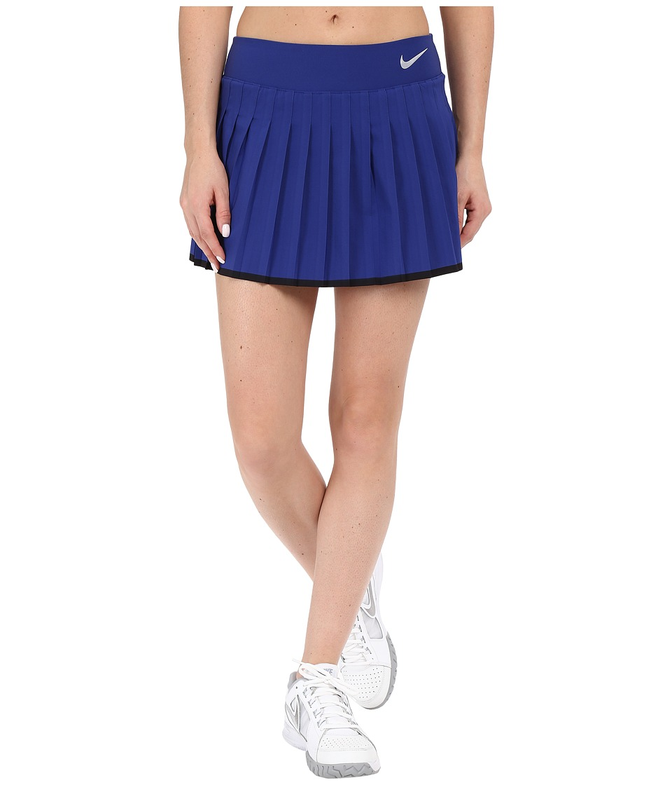 Nike - Victory Skirt (Deep Royal Blue/White) Women's Skort