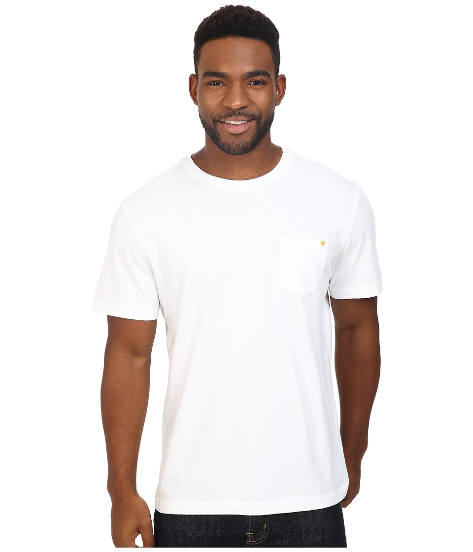 Life is Good - Enjoy The Ride Bicycle Pocket Crusher Tee (Cloud White) Men's T Shirt