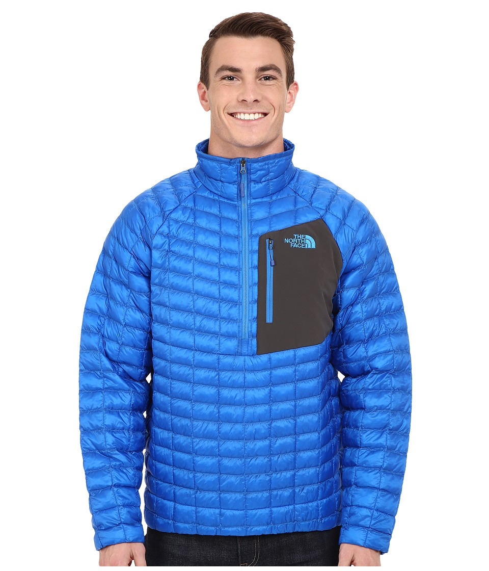The North Face - ThermoBall Pullover (Bomber Blue) Men's Coat