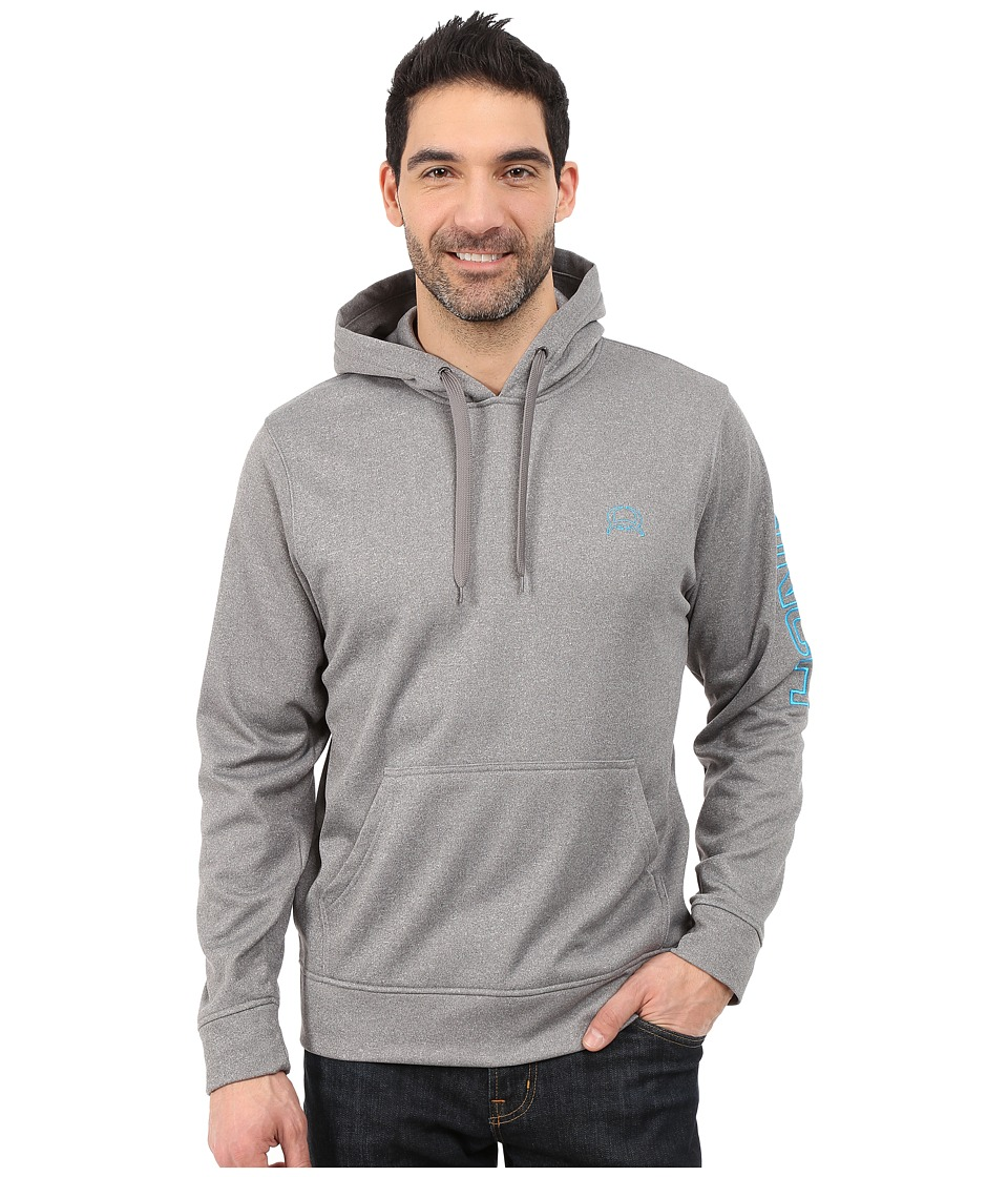 Cinch - Tech Pullover Hoodie (Charcoal) Men's Sweatshirt