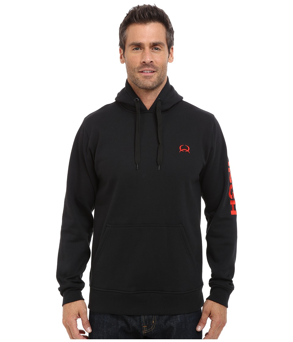 Cinch - Pullover Hoodie (Black) Men's Sweatshirt