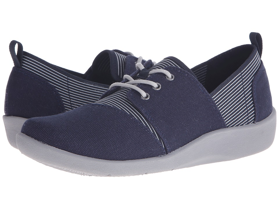 Clarks - Sillian Joss (Navy) Women