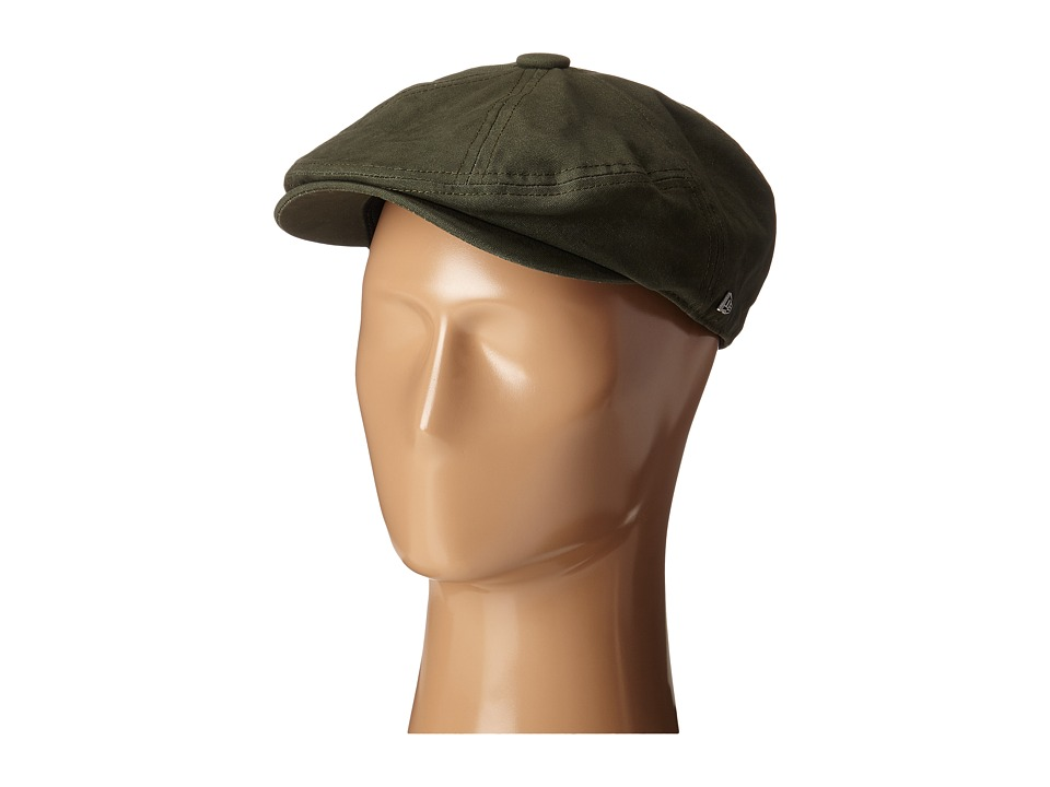 New Era - Canvas 7 Panel Driver (Olive) Caps