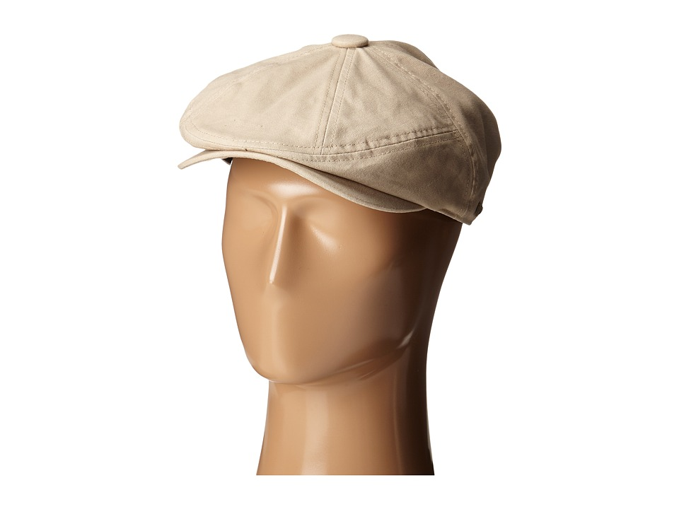 New Era - Canvas 7 Panel Driver (Khaki) Caps