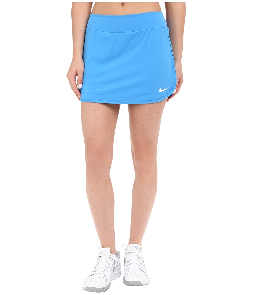 Nike - Pure Skirt (Light Photo Blue/White) Women's Skort