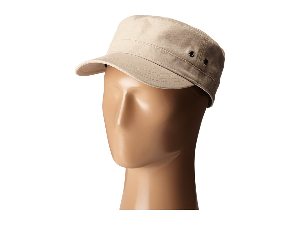 New Era - Canvas Military (Khaki) Caps