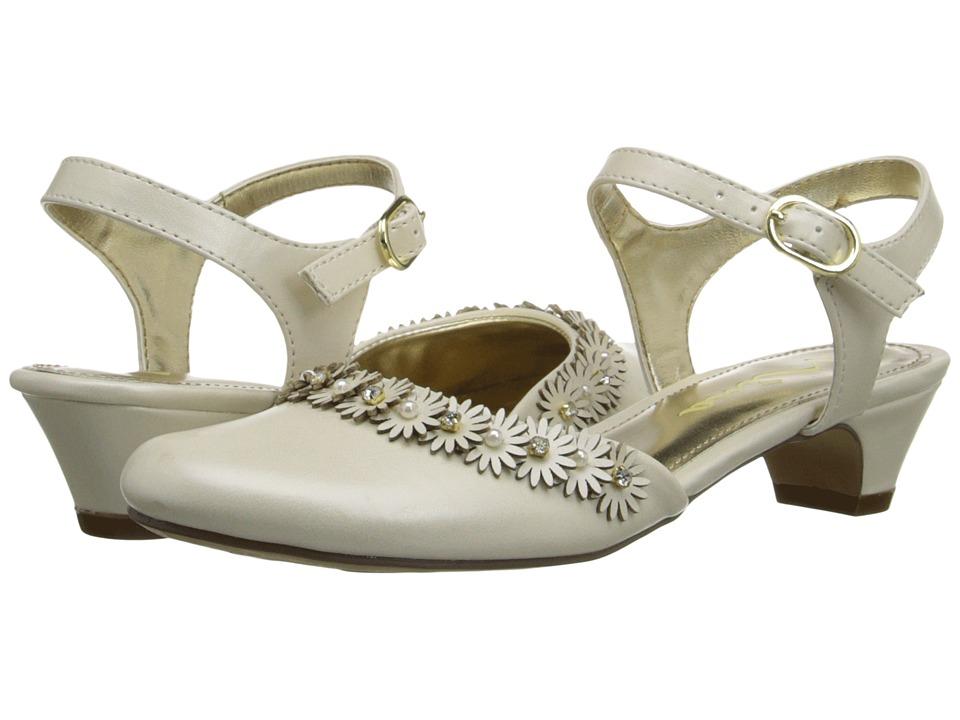 Nina Kids Dayanna (Little Kid/Big Kid) (Bone) Girls Shoes